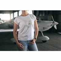 GOLD VAMPIRE COLLECTION - T-shirt Woman White / XS